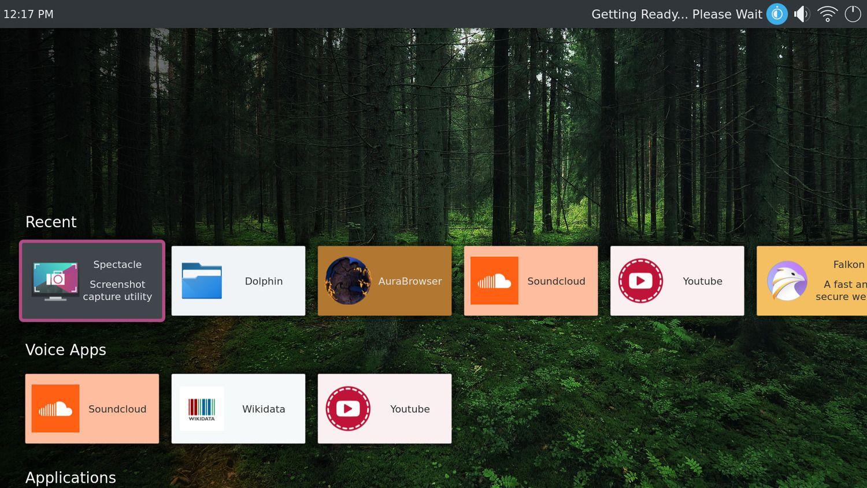 Kde Introduces Plasma Bigscreen A Linux Desktop Aimed At Smart Tvs