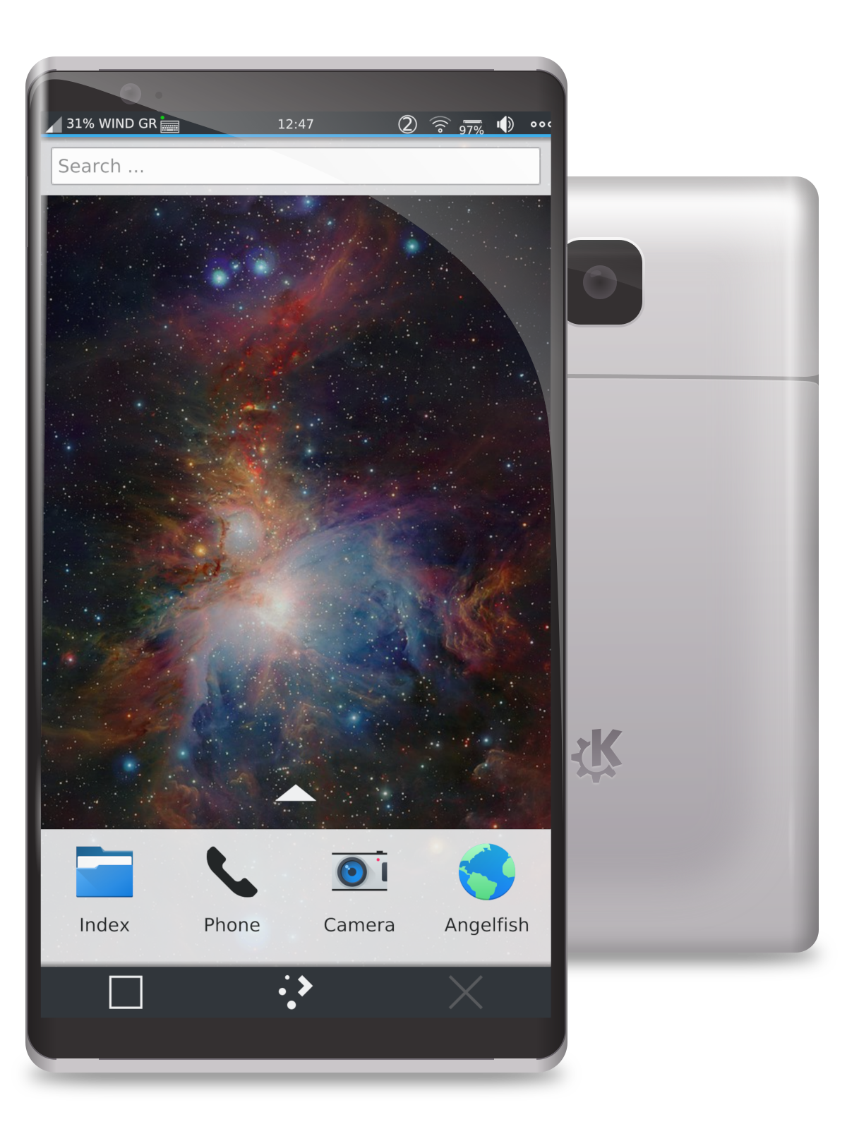 "Improved KDE Plasma Mobile introduces ""Plasma Nano"" minimal shell for embedded devices"