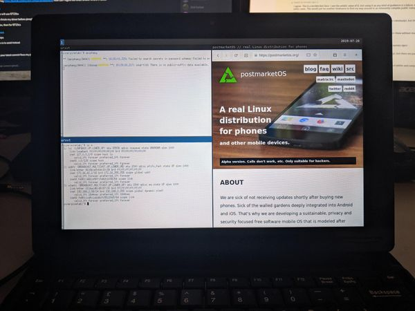 $79 PineTab Linux tablet supports SATA and LTE expansions, boots postmarketOS