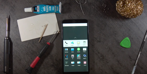 Video shows PinePhone prototype detailed assembly and boot to Plasma Mobile